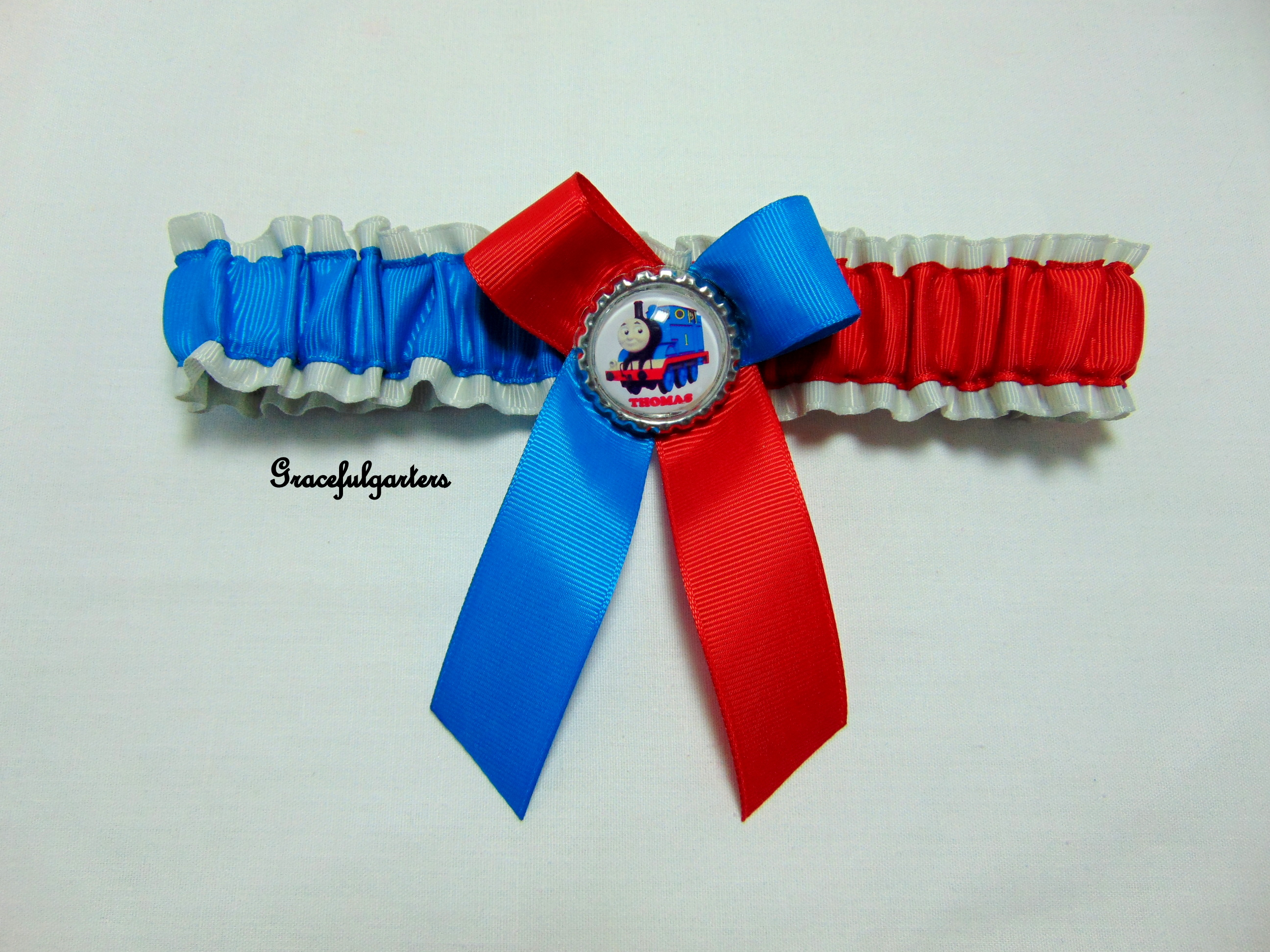 Thomas The Tank Engine Bridal Wedding Garter