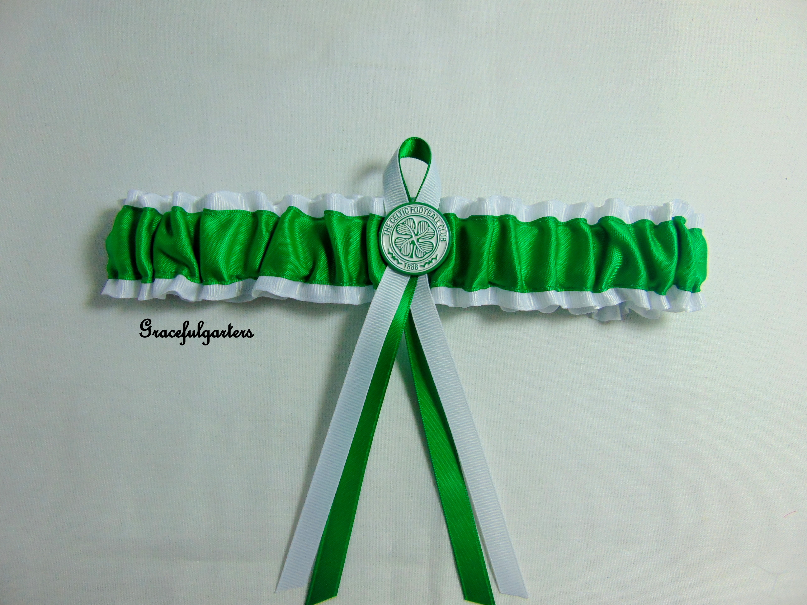 Celtic Football Team Bridal Wedding Garter