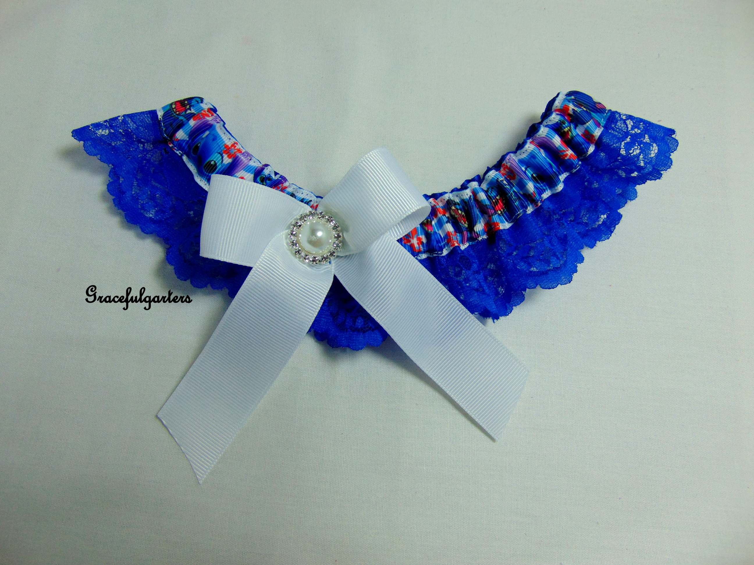 Stitch Bridal Wedding Garter