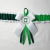 Green Lantern Villain Bridal wedding Garter