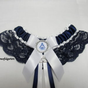 Harry Potter Deathly Hallows Always Lace Bridal Wedding Garter