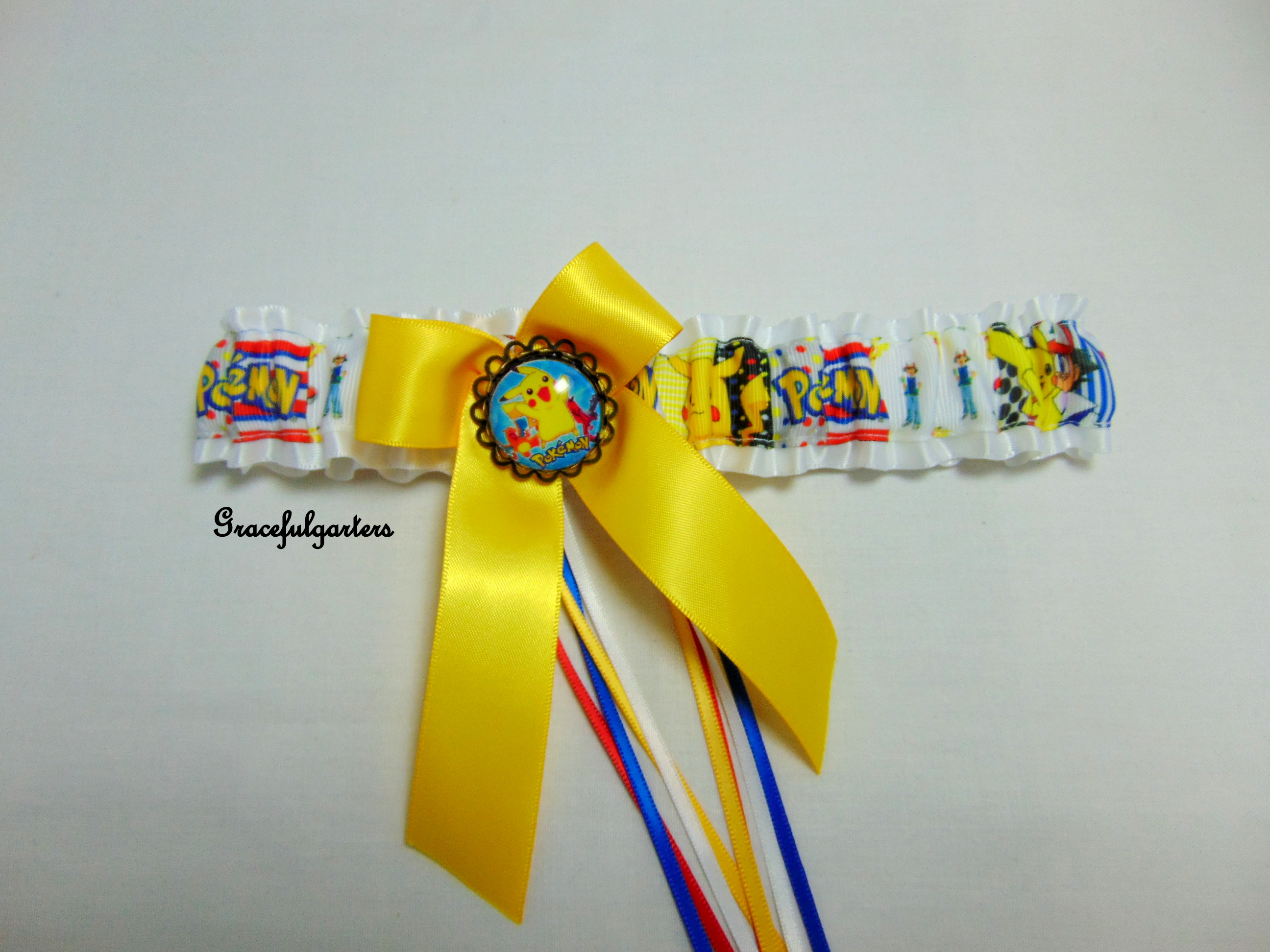 Ninetendo Pokemon Pikachu Bridal Wedding Garter