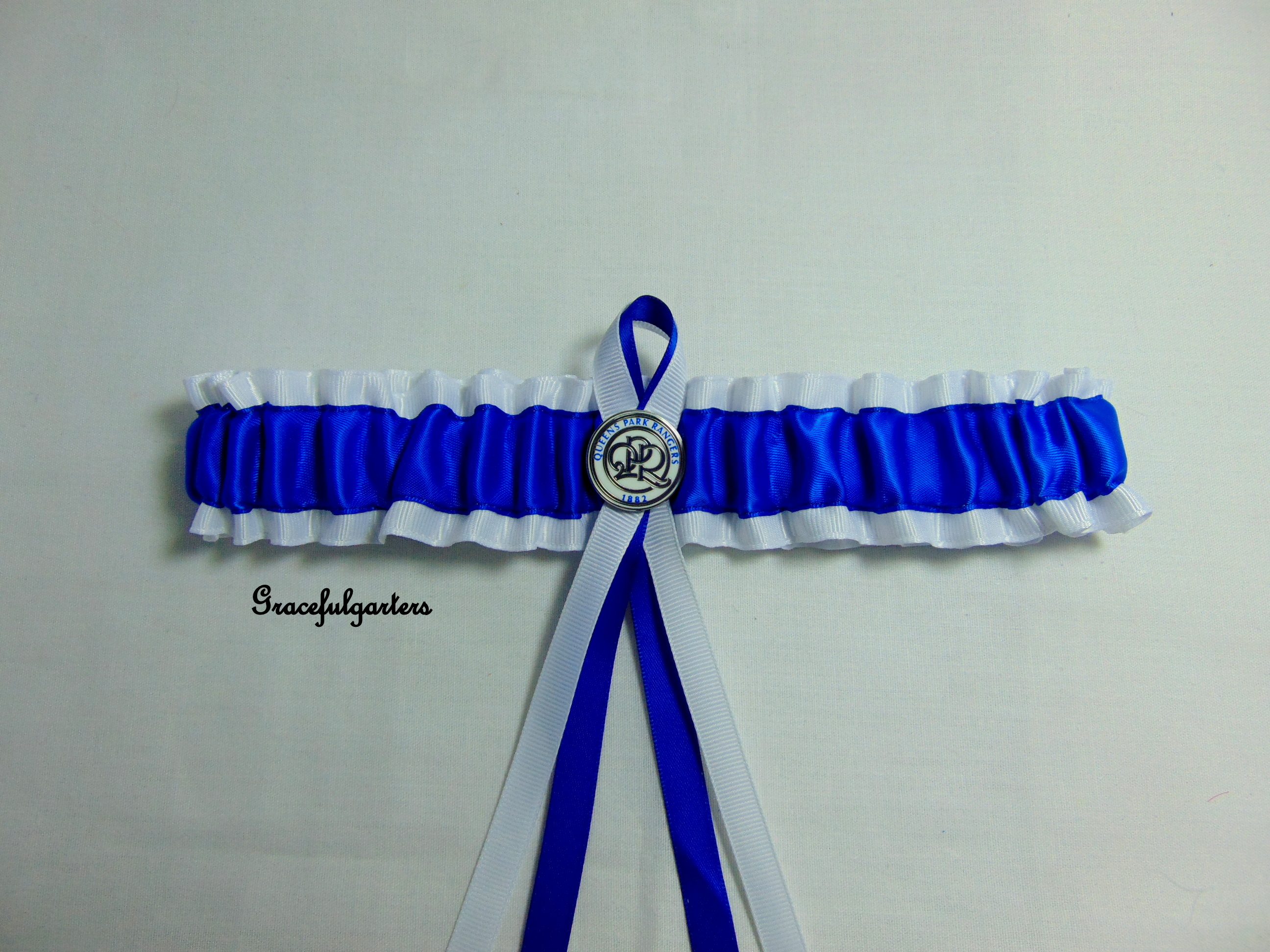 Queen park Rangers QPR Football Team Bridal Wedding Garter
