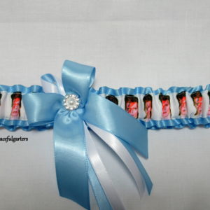 David Bowie ziggy Bridal Wedding Garter