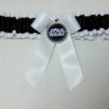 Starwars Princess Leia Bridal wedding Garter Set