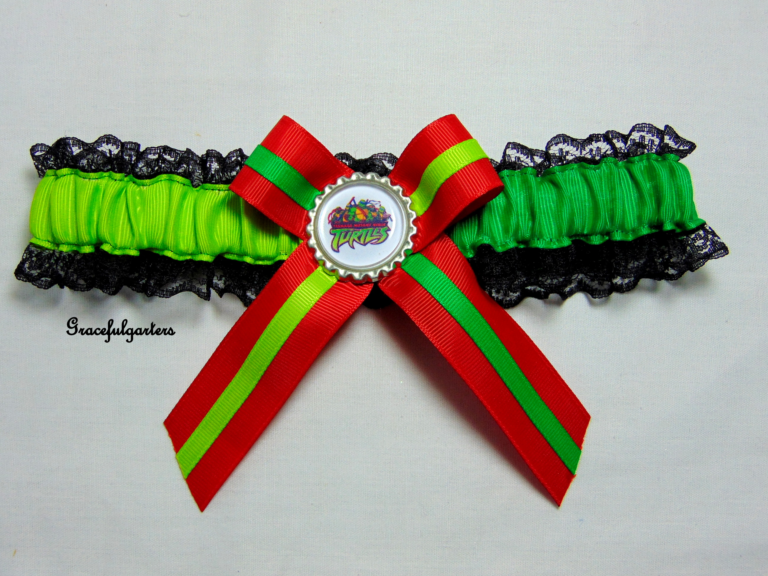Teenage Mutant Ninja Turtles Bridal Wedding Garter