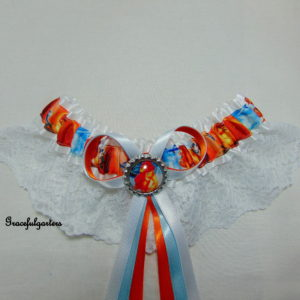 Lion King Lace Bridal Wedding Garter