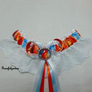 Lion King Lace Bridal Wedding Garter