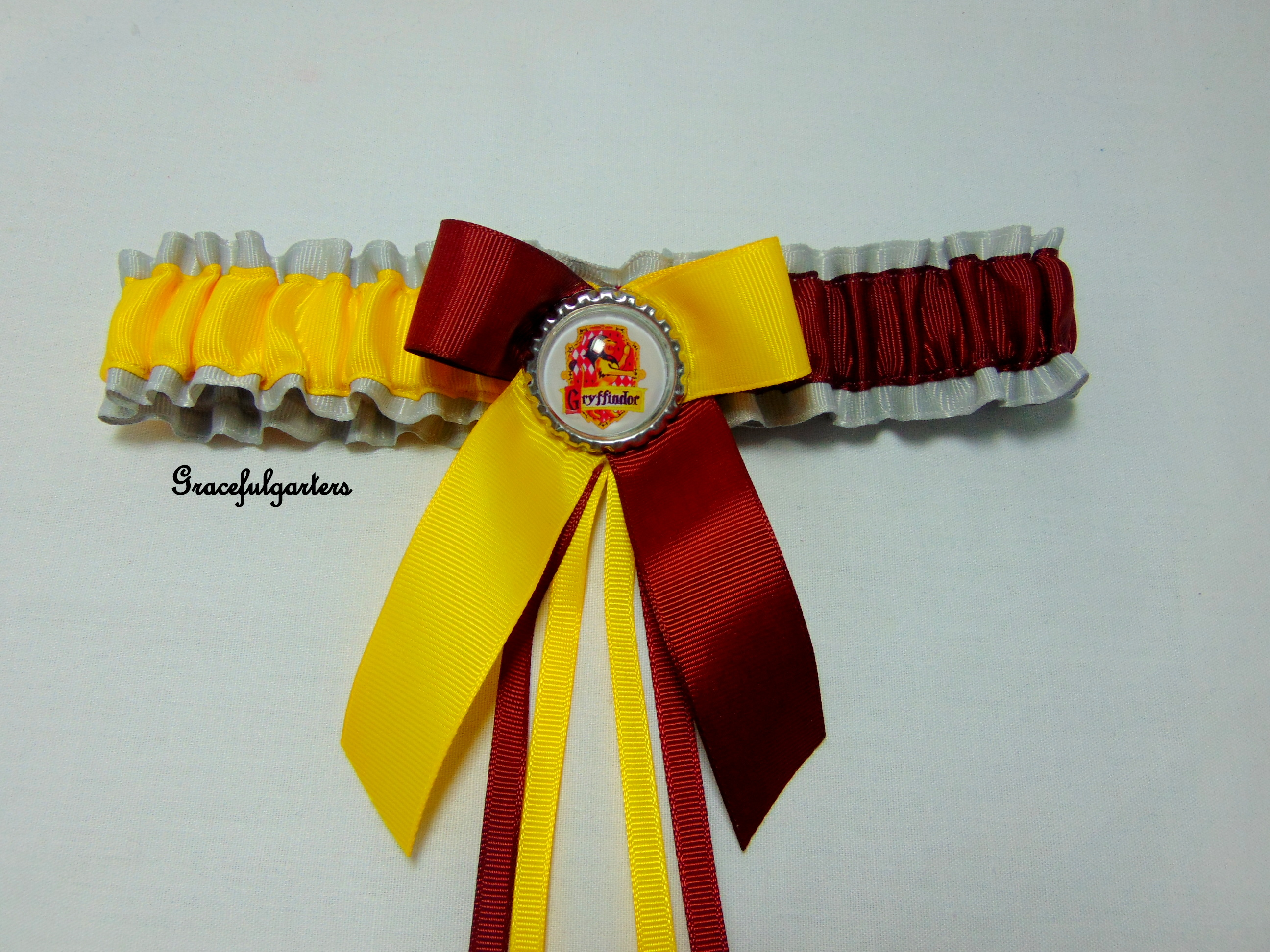 Harry Potter Griffindor Bridal Wedding Garter