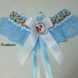Mickey & Minnie Mouse Disney Lace Bridal Wedding Garter