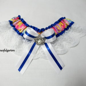 Disney Princesses Lace Bridal Wedding Garter