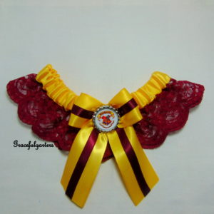 Harry Potter Hogwarts Lace Wedding Garter.