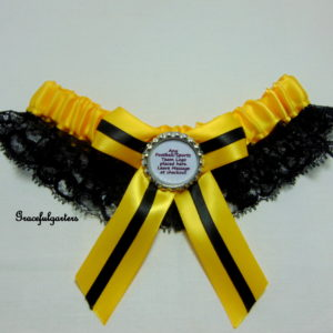 Wolverhampton Wanderers Lace Football Team Bridal Wedding Garter