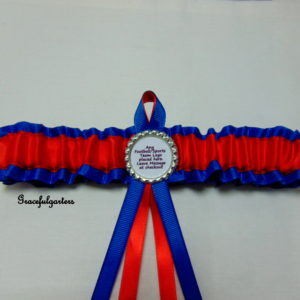 Crystal Palace Football Team Bridal Wedding Garter
