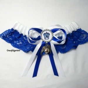 Harry Potter Ravenclaw & Snitch Lace Bridal Wedding Garter