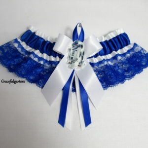 Starwars R2D2 Lace Bridal wedding Garter