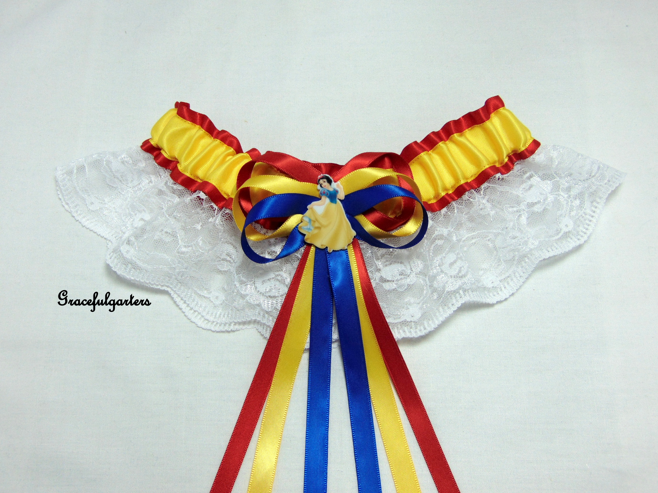 disney Snow White Disney Bridal Wedding Garter