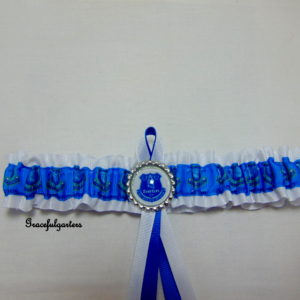 Everton Football Team Bridal Wedding Garter