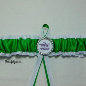 The Celtic Football Club Team Bridal Wedding Garter
