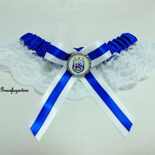 Huddersfield Football Team Bridal Wedding Garter - GracefulGarters