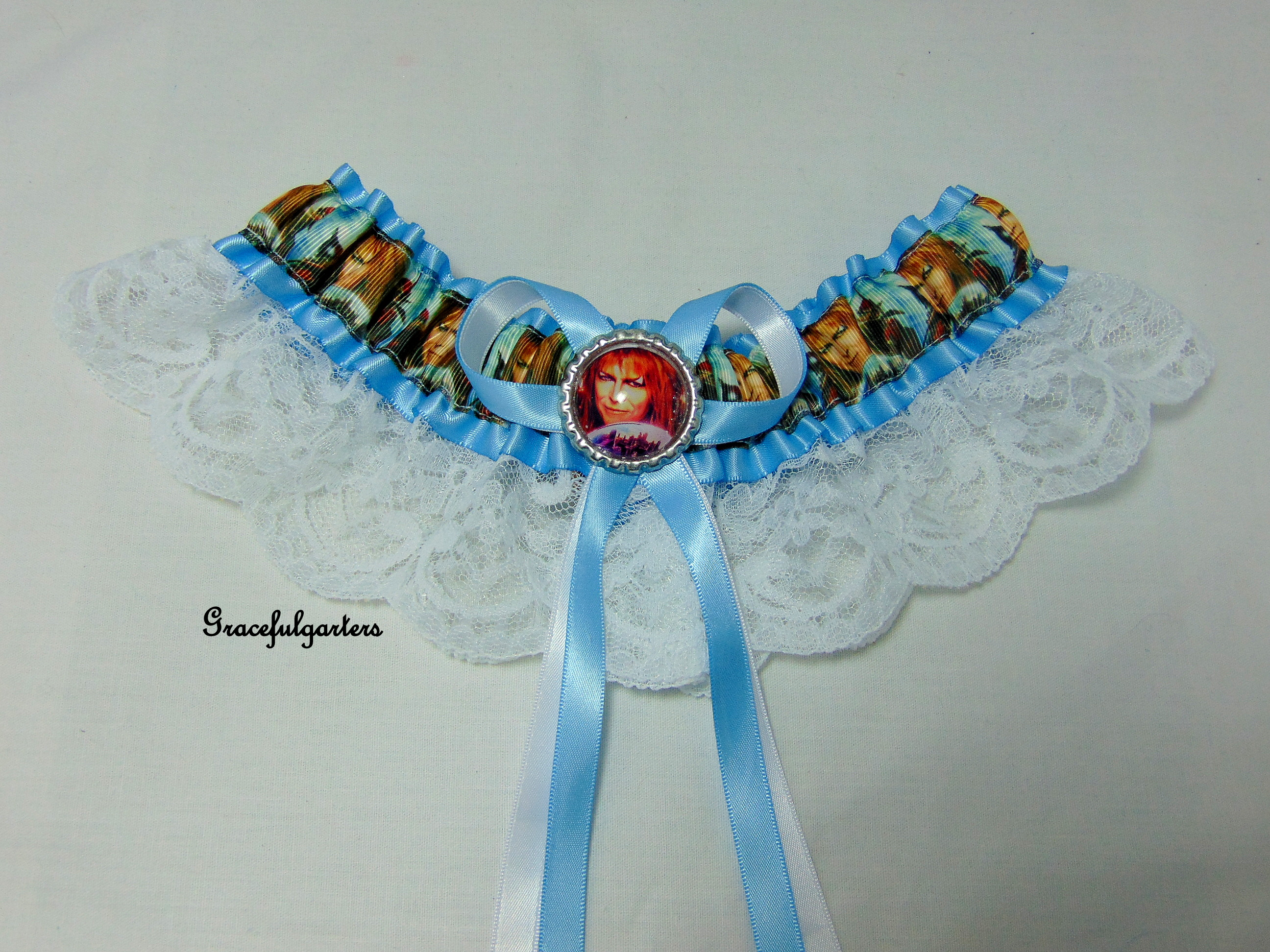 David Bowie Labyrinth Bridal Wedding Garter