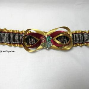 harry potter hogwarts bridal wedding garter