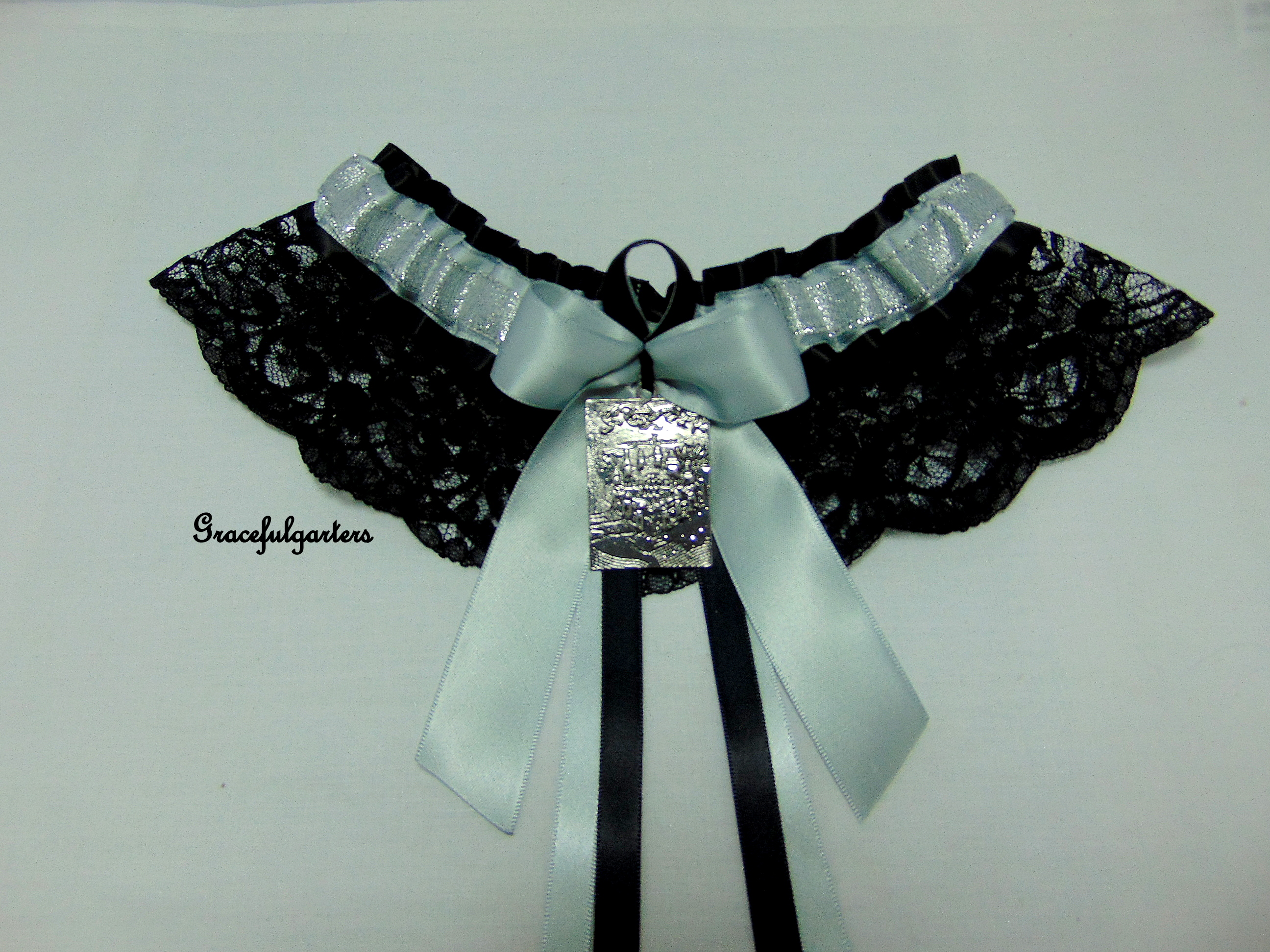 Harry Potter Marauders Map Lace Bridal Wedding Garter
