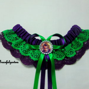 DC Comics Joker Lace Bridal Wedding Garter