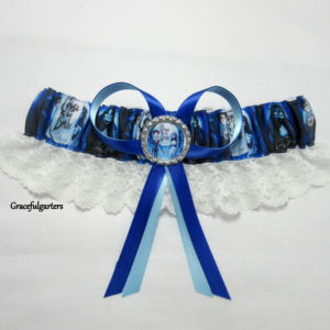 Corpse Bride Lace Bridal Wedding Garter
