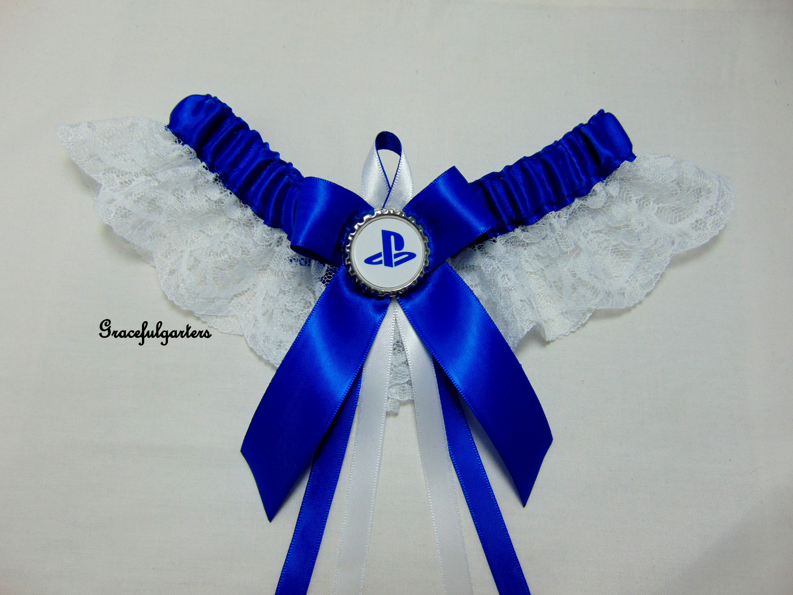 PlayStation Lace Bridal Wedding Garter Set
