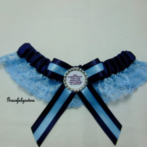 Wycombe Wanderers Lace Bridal Wedding Garter