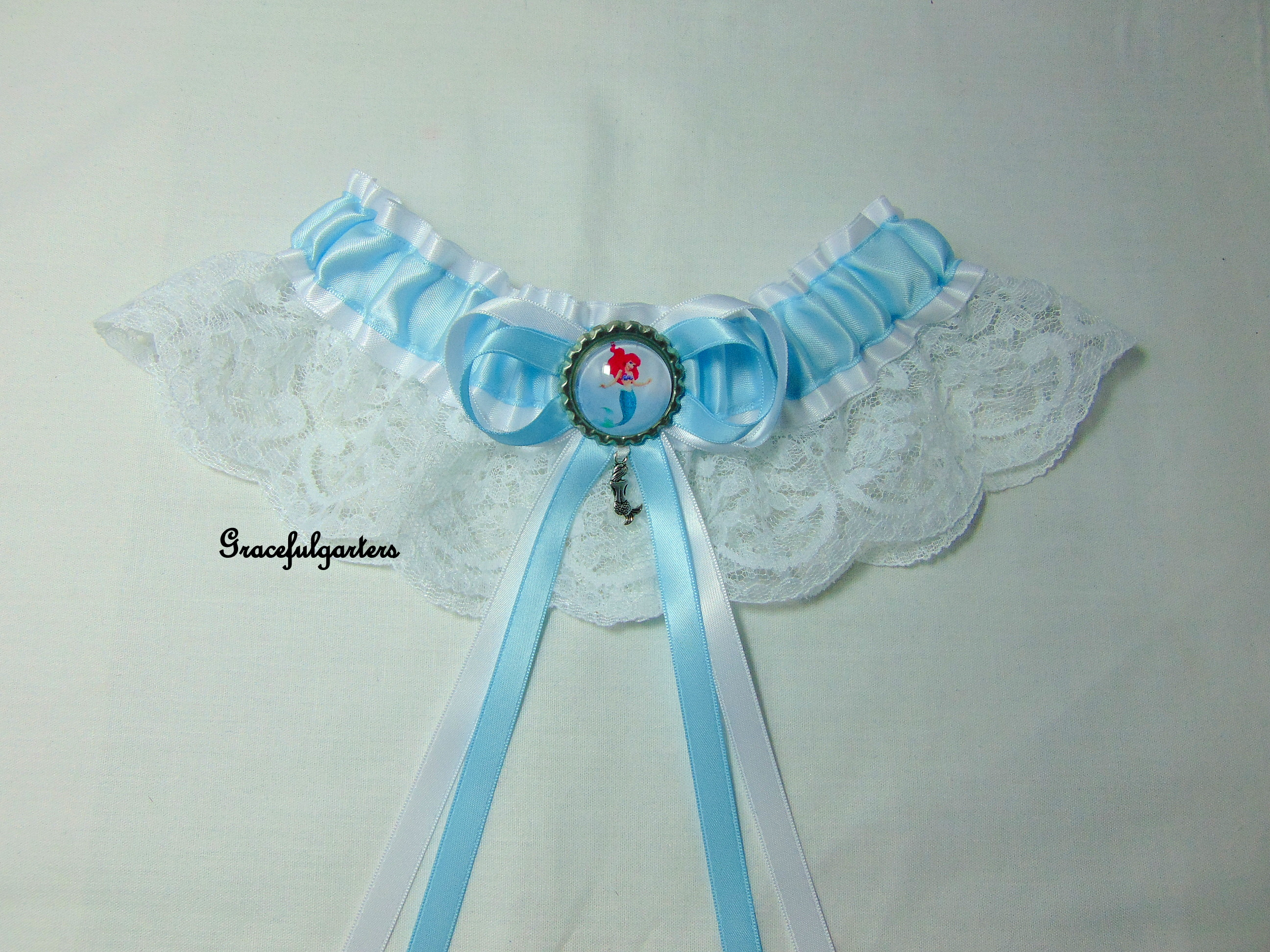 The Little Mermaid Ariel Disney Bridal Wedding Garter