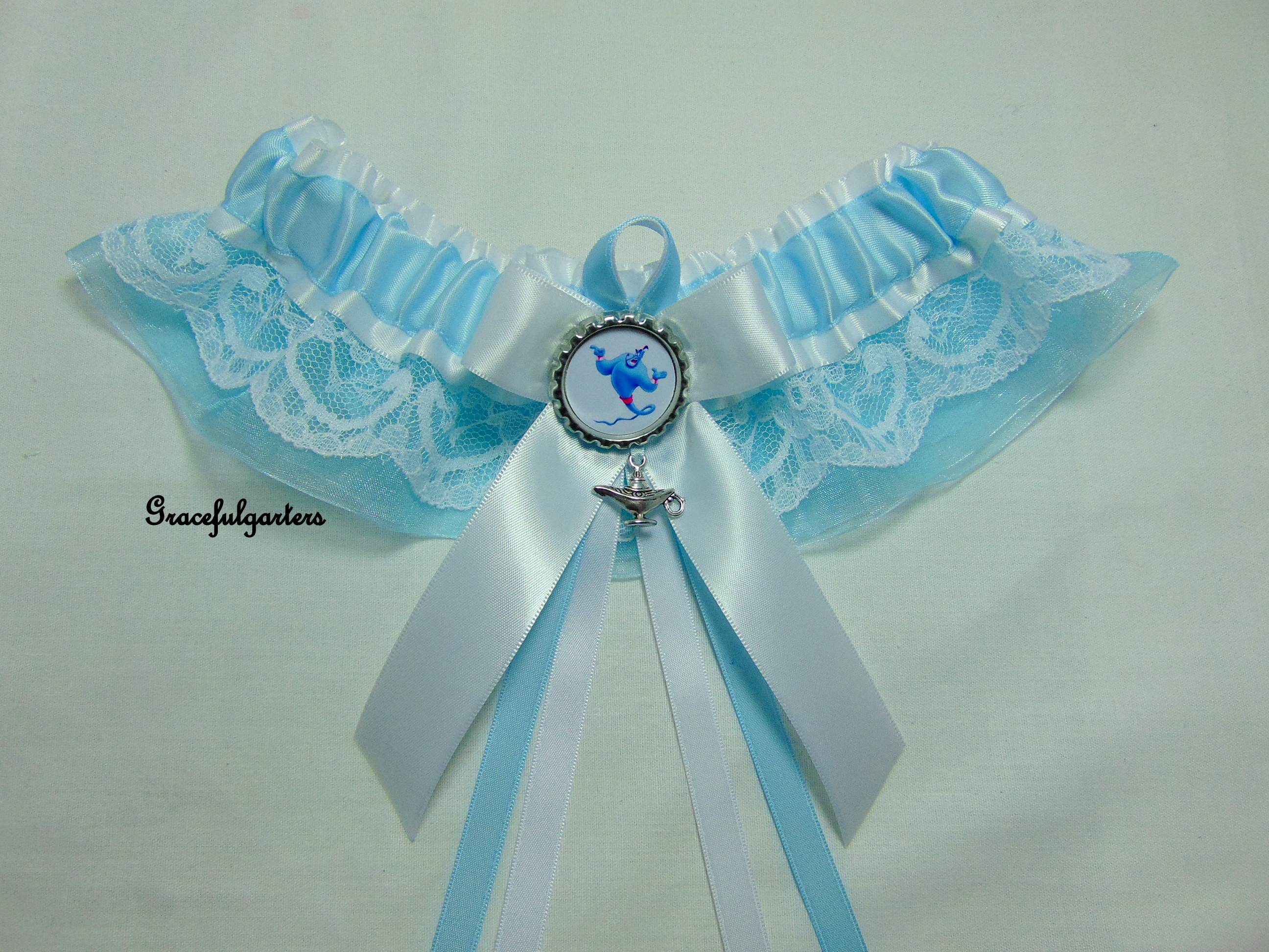 disney aladin Lace Bridal Wedding Garter