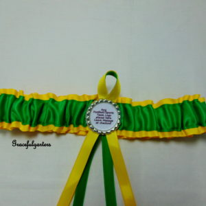 Norwich City Football Team Bridal Wedding Garter
