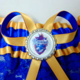 Harry Potter Ravenclaw Lace Bridal Wedding Garter
