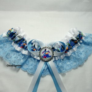 disney eeyore Lace Disney Bridal Wedding Garter