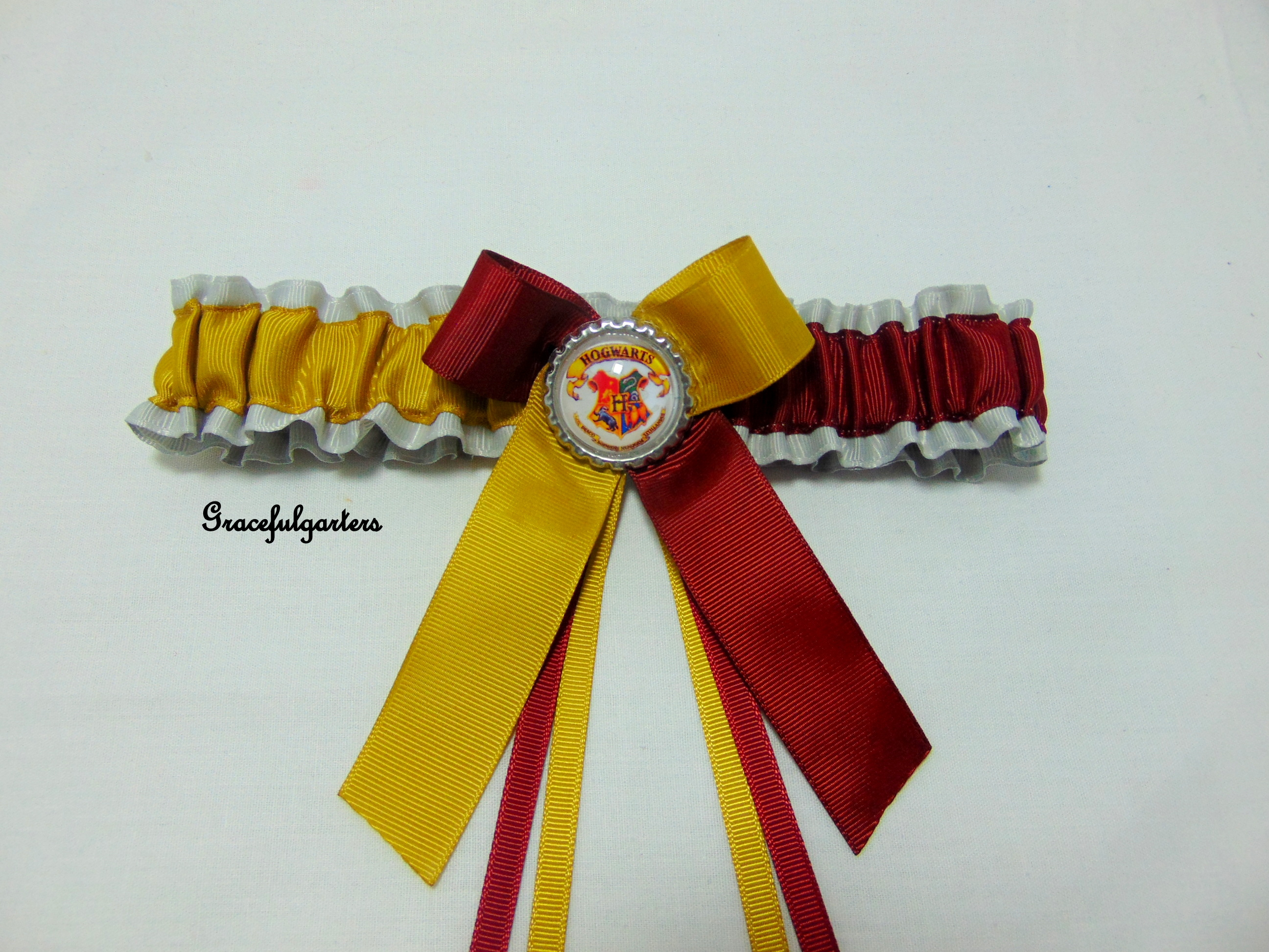 harry potter hogwarts bridal wedding garter