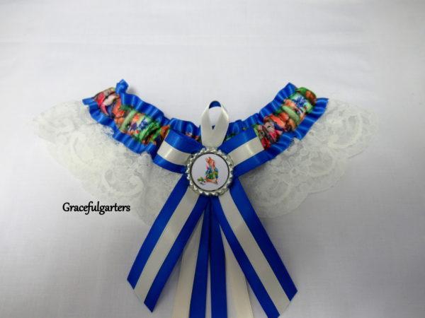 beatrix potter Peter Rabbit Lace Bridal Wedding Garter