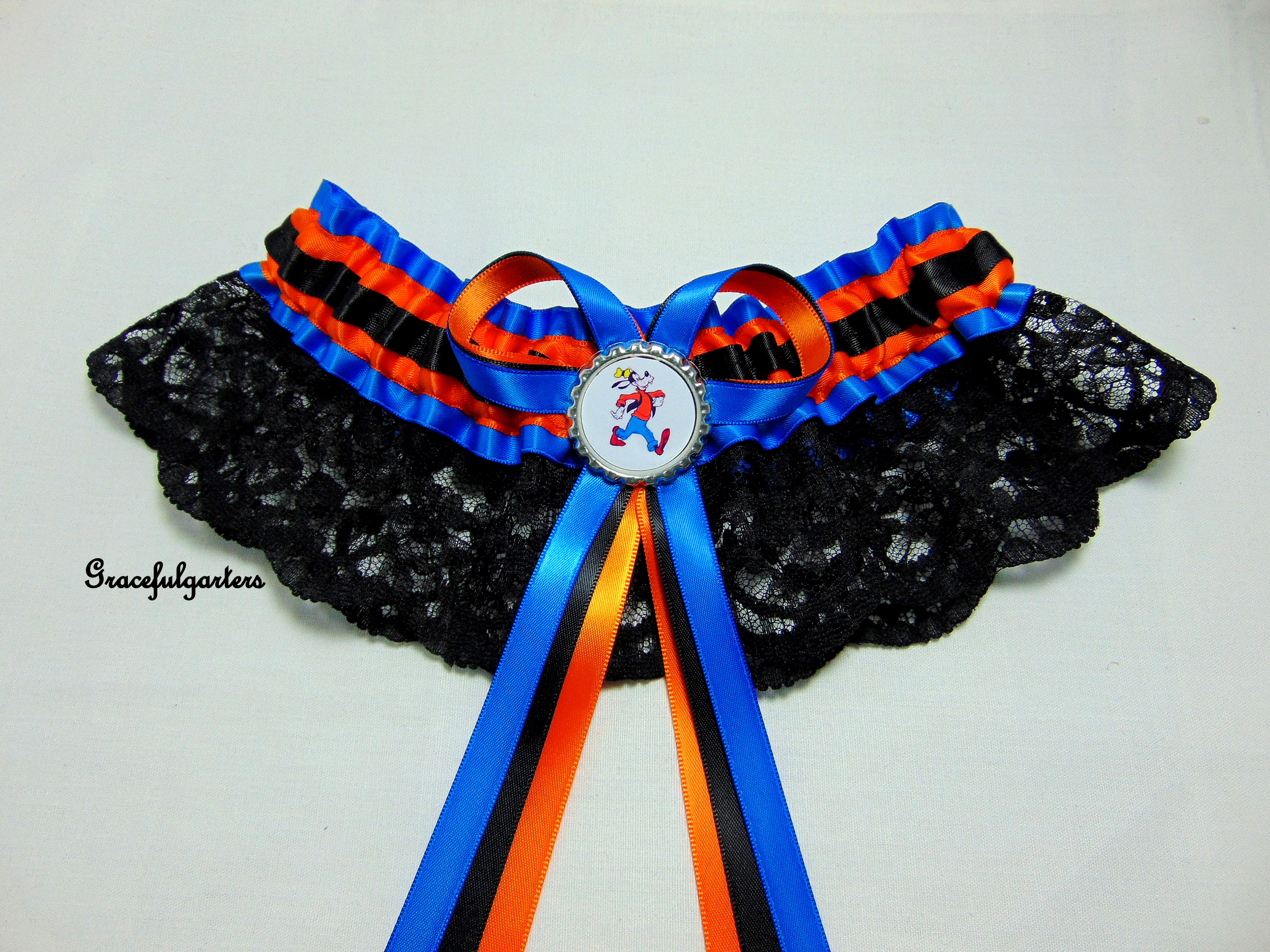 Disney Goofy Bridal Wedding Garter