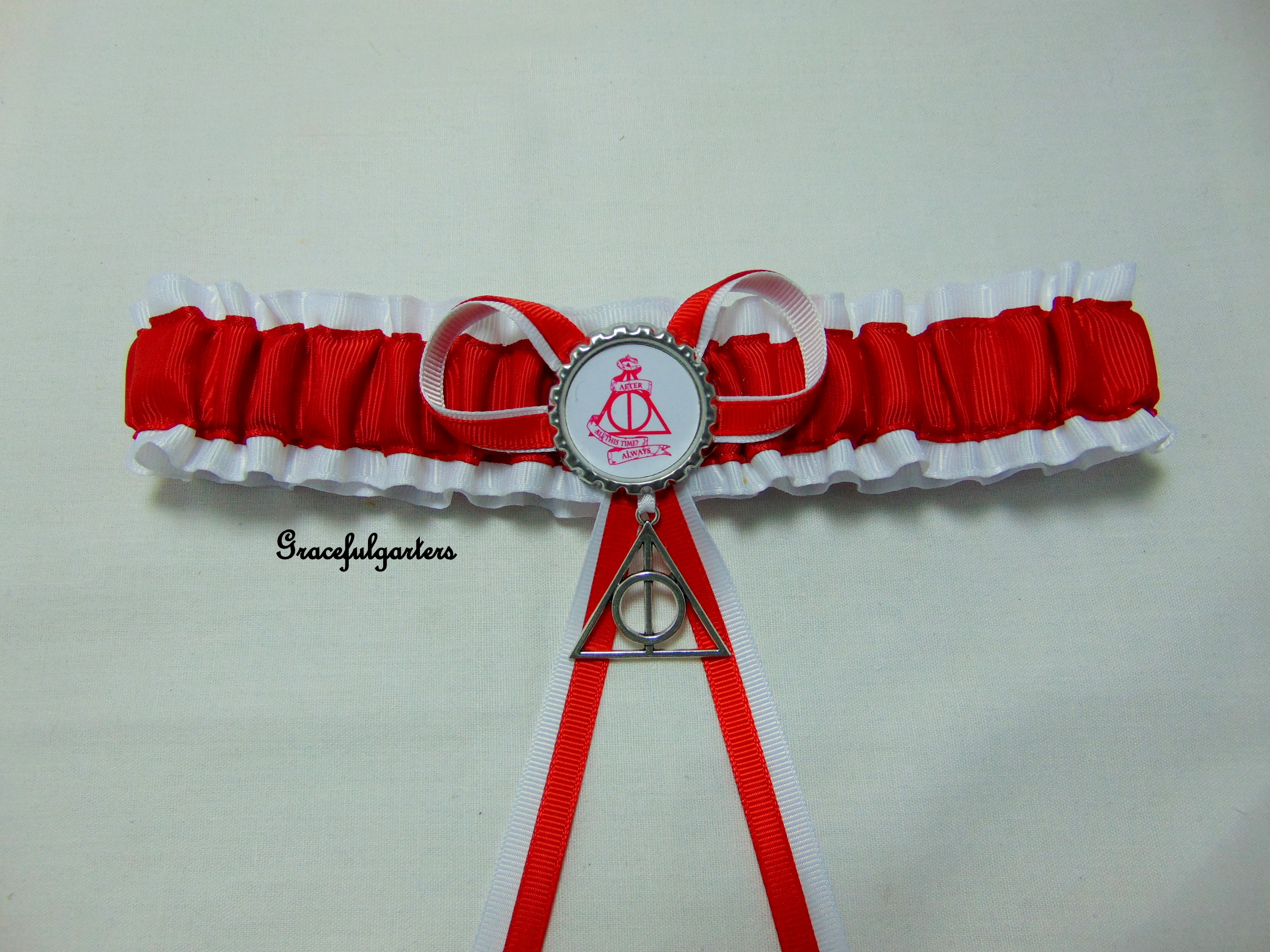 Harry Potter After All This Time Always Bridal Wedding Garter.