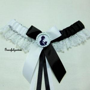 DC Comics Catwoman Lace Bridal Wedding Garter