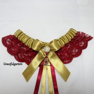Harry Potter After All This Time Always Lace Bridal Wedding Garter.