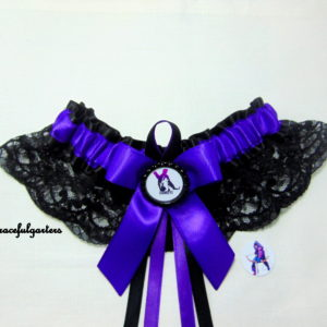 Marvel Avengers Hawkeye Lace Bridal Wedding Garter