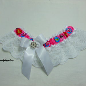 Lady/Woman Superheroes Lace Bridal Wedding Garter