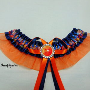 Dragon Ball Z organza Bridal Wedding Garter