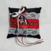 Jack And Sally Nightmare Before Christmas Ring Cushion/Pillow