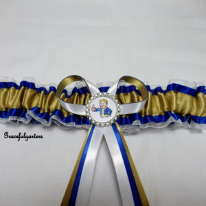 Fallout Genre Bridal Wedding Garter