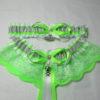 Alien UFO Space Bridal Wedding Garter Set