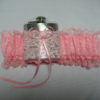 Coral Pink HipFlask Bridal Wedding Garter