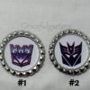 Transformers Decepticons Lace Bridal Wedding Garter